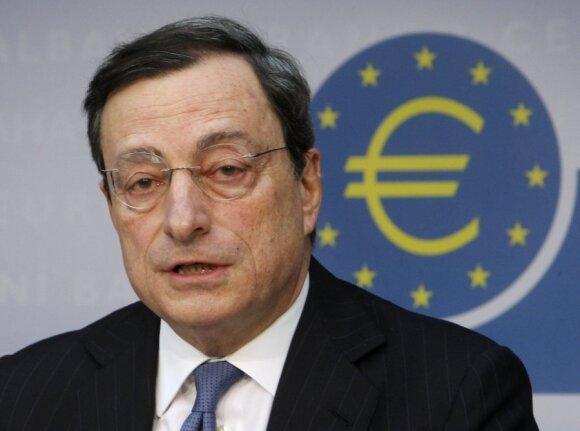 Europos centriniam bankui, panašu, pavyksta suvaldyti krizę