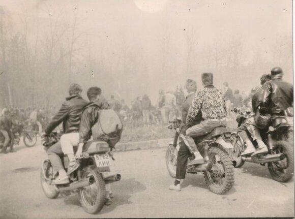 Motociklininkų klubo MAR'as archyvinės nuotraukos