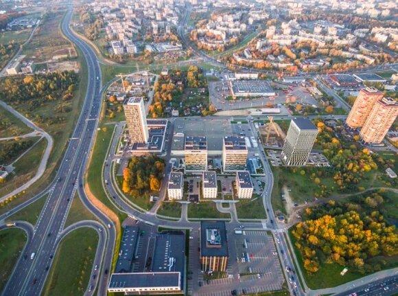 Viršuliškėse iškils aštuoniolikos aukštų verslo centras