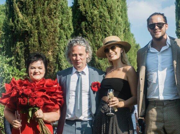 Dalia Ibelhauptaitė, Dexteris Fletcheris, Margot Robbie ru vyru Tomu