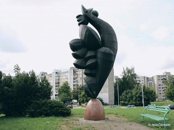 """Giesmė"" // Ievos Čičirkaitės, VilniusGo nuotr."