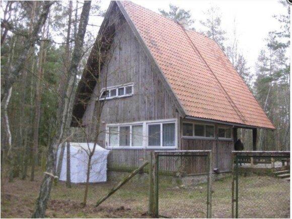 Aukcione parduodamas objektas Neringoje (Turto banko nuotr.)