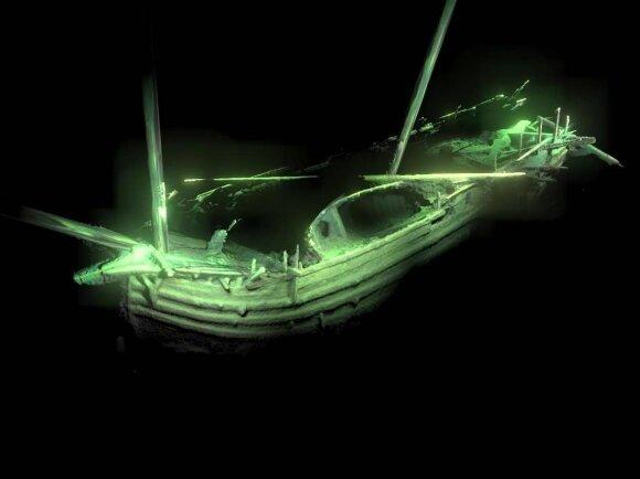 Baltijos dugne rastas renesanso laikų laivas