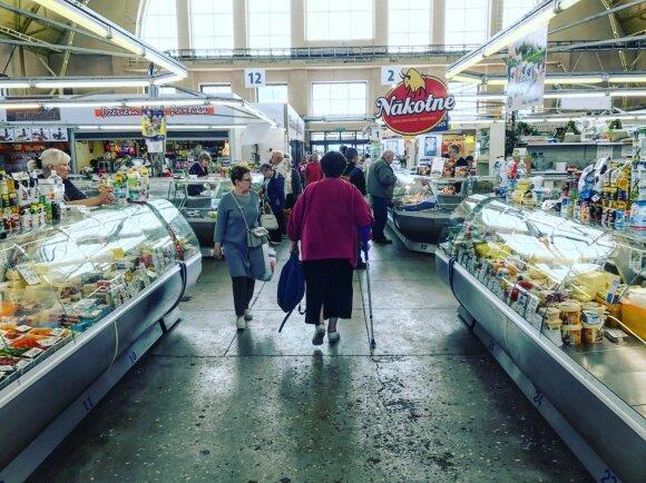 Centriniame Rygos turguje ieškojo šprotų, bet surado centų prašantį lietuvį