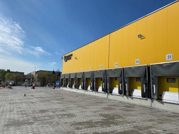 Naujasis Lietuvos pašto logistikos centras