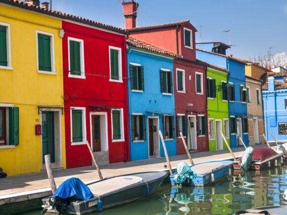 Gražuolė Venecija, lagūna ir jos salos