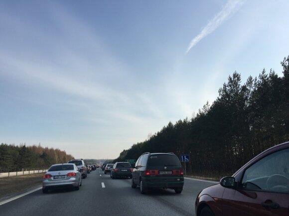 Spūstys kelyje link Vilniaus