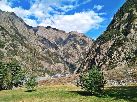Įspūdingas Kaukazo kalnynas
