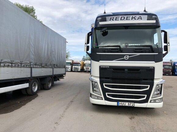 """Jonavoje gyvuoja logistikos įmonė """"REDEKA""""."""