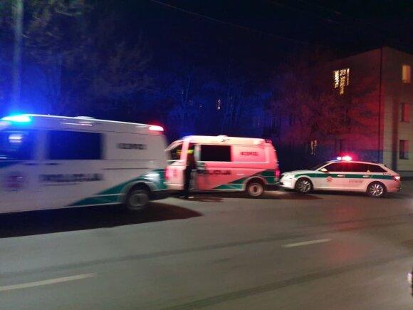 В Каунасе ДТП совершил нетрезвый водитель BMW