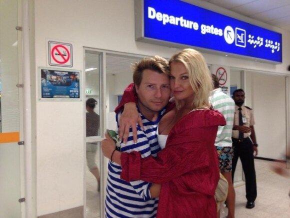 В прессе появились интимные ФОТО Волочковой с Басковым
