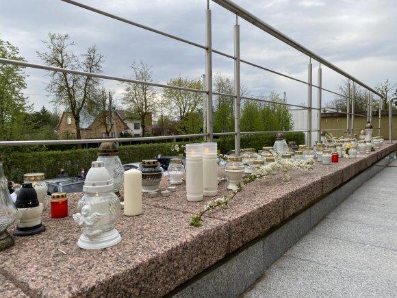 Tylioji akcija prie Šiaulių ligoninės