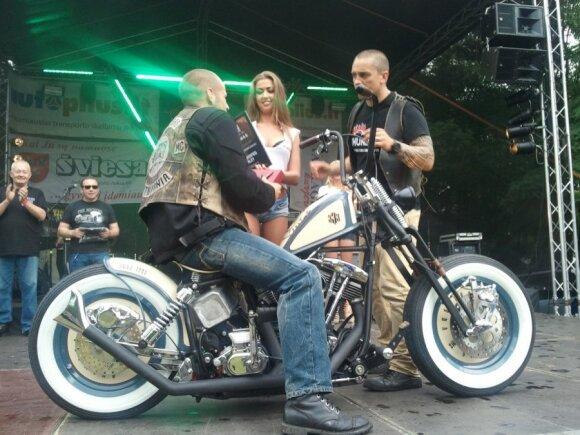 Best American nugalėtojas - motociklas Pro One
