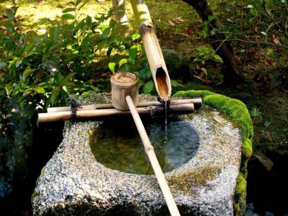Kaip kuriami japoniški sodai: akmenų, vandens ir augalų kalba