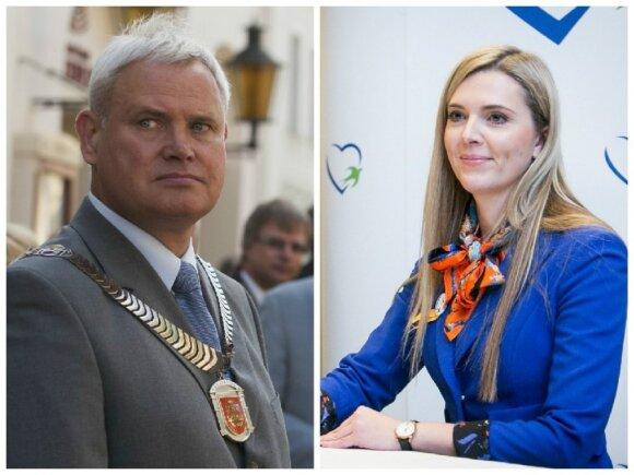 Vytautas Grubliauskas, Agnė Bilotaitė