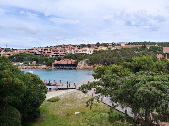 Kaljaris ir kelionė Korsikos link