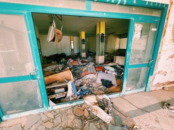 """Bankrutavusių ir apleistų Egipto viešbučių kapinės: """"viskas įskaičiuota"""" rojus, kuriame šiandien atostogauja vaiduokliai"""