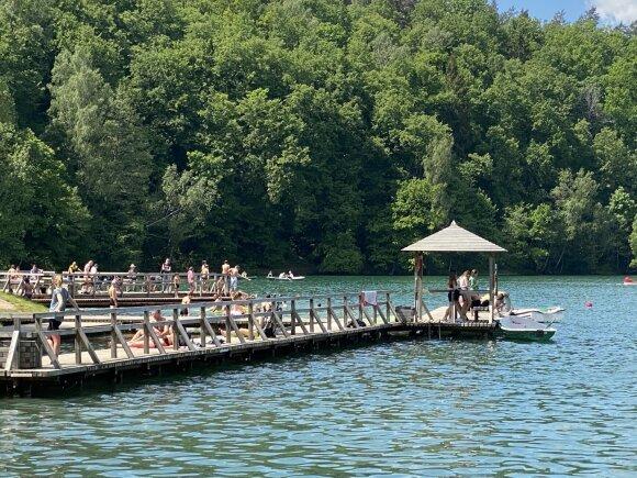 Reportažas iš Žaliųjų ežerų