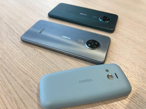 Naujieji Nokia telefonai