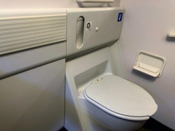 Lėktuvo tualetas