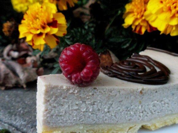 Bananis sūrio tortas su čiobreliais