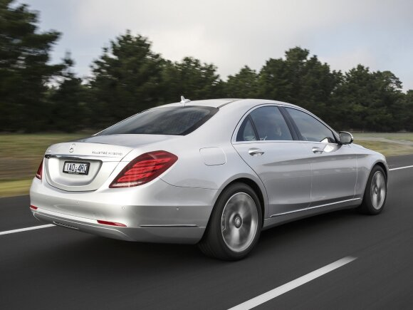 """Mercedes-Benz S350 Blue Hybrid"""