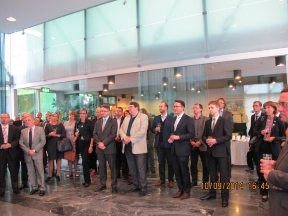 Seminar at the Estonian Chamber of Commerce