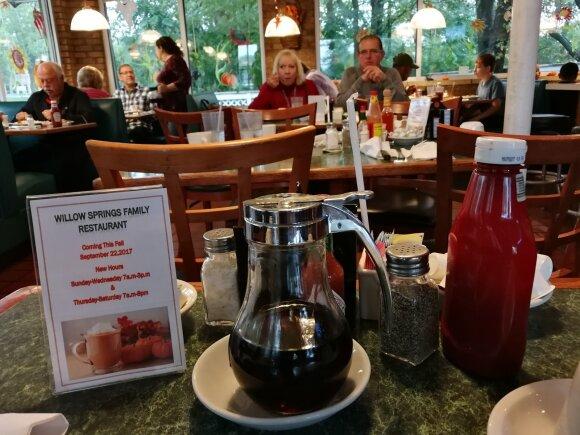 Lietuvis Amerikoje rado kavinę, kurioje pasijuto tarsi Holivudo filme