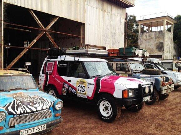 Budapešto-Bamako ralio finišas