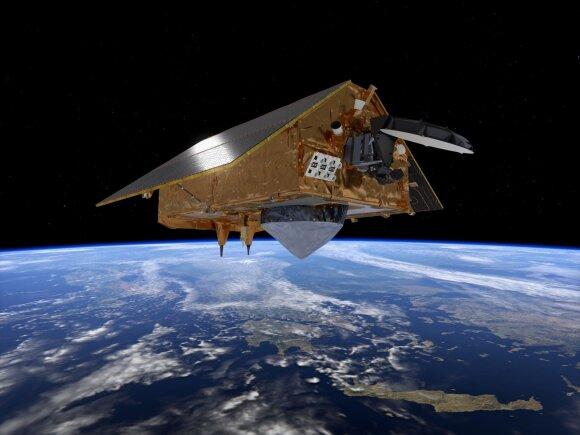 Vaizdai iš kosmoso užfiksuoti ESA palydovo.
