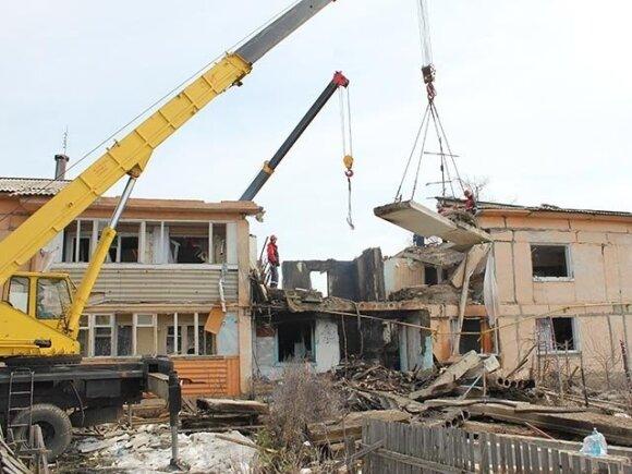 Обвал дома в Омске: пять человек погибли, трое в реанимации