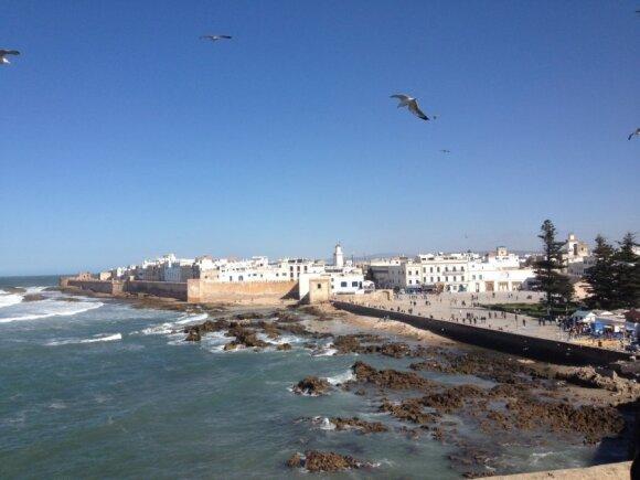 Lietuvių menininkės dienoraštyje - tikrojo Maroko žavesys