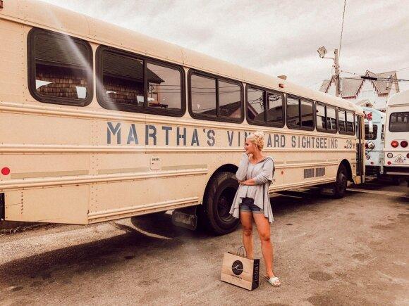 Augustės ir Lauryno antroji vasara JAV ir Martha's Vineyard sala