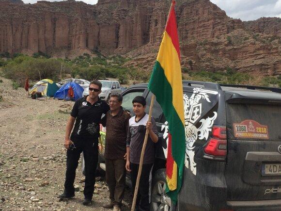 Vanago komandos narys: planuoju ir pats dalyvauti Dakaro ralyje