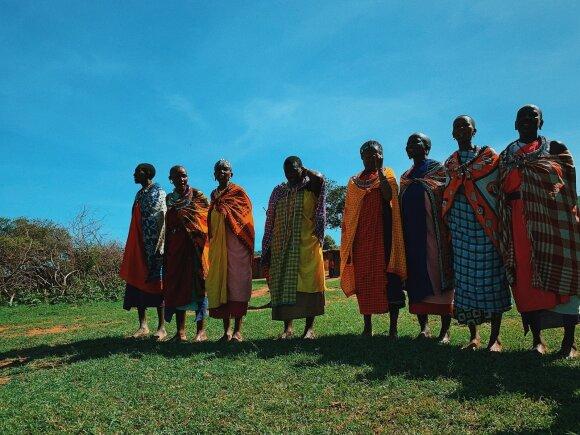 Masajų genties gyvenimas