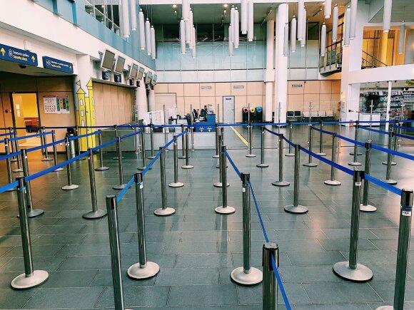 Apribojimai kelionėms į užsienį nebus taikomi – keliauti į oro uostus bus galima laisvai