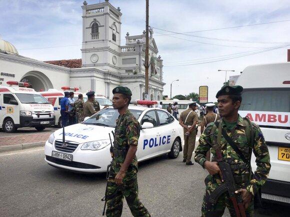 Sprogimai Šri Lankoje
