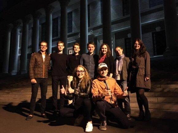 Jeilio ir Harvardo studentai lietuviai