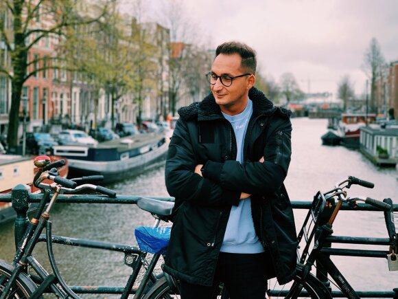 Dviratininkai Amsterdame