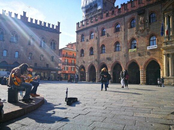 Pavyzdinis Italijos miestas, užaugęs nuo studentų antplūdžio