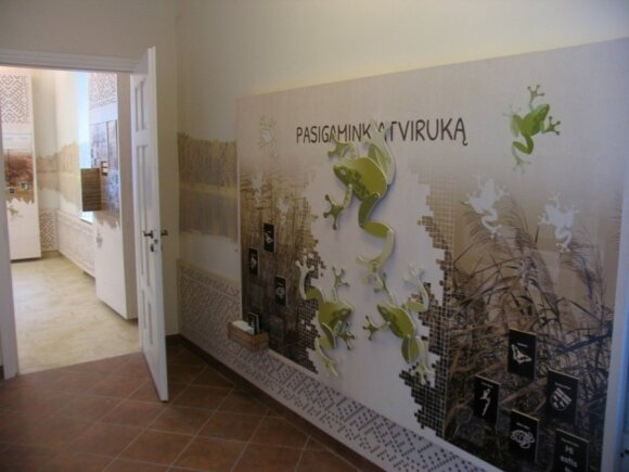 Veisiejų  RP lankytoju centro ekspocizjia