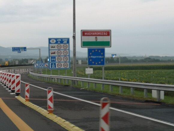 Įvažiuojame į Vengriją