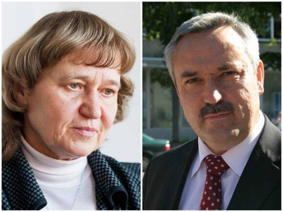 Rūta Baškytė ir Benjaminas Sakalauskas