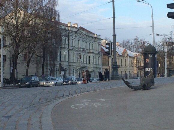 Avarija Vilniaus centre