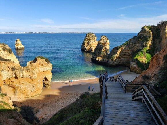 Kelionė automobiliu vandenyno pakrantėmis ir Portugalijos karūna – Lisabona