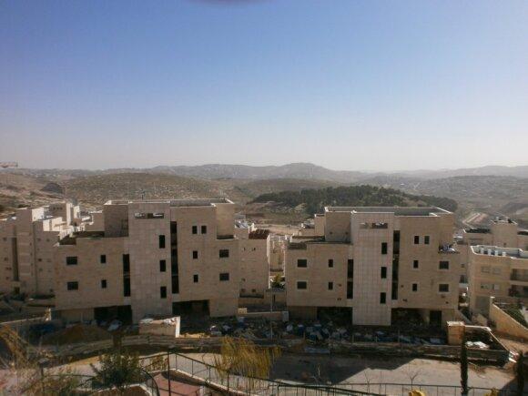 Statomi Naujakurių namai rytų Jeruzalėje