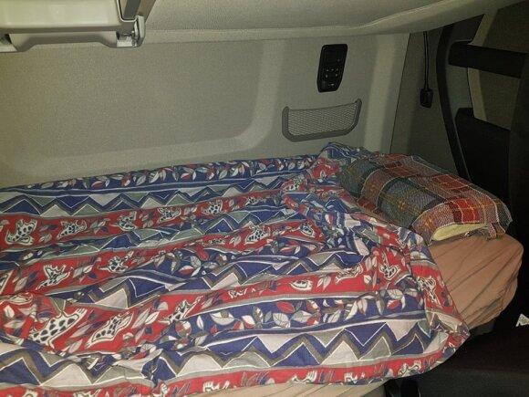 Vairuotojo lova
