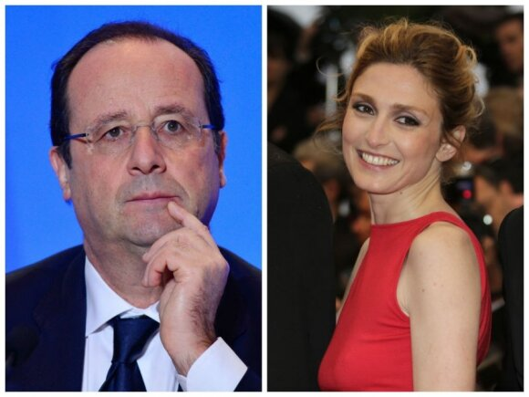 Francois Hollande'as ir Julie Gayet