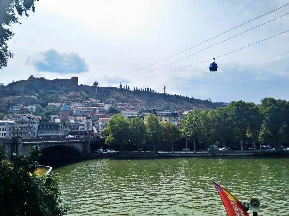 Tbilisio vaizdai