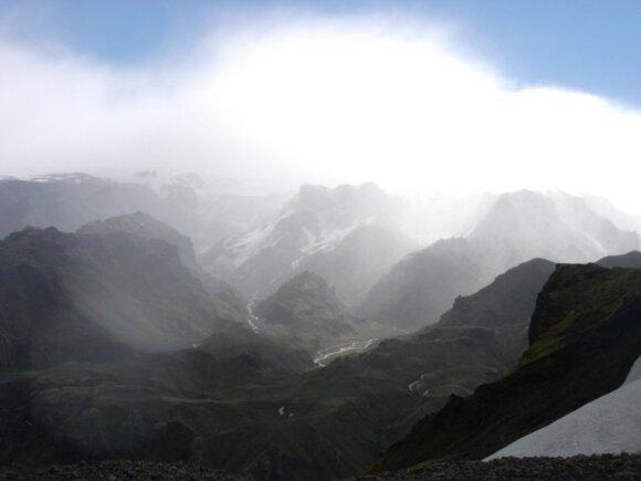 500 km pėsčiomis per laukinę Islandijos gamtą